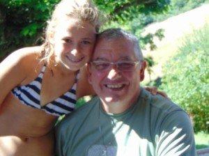 Maëlle et son Papy