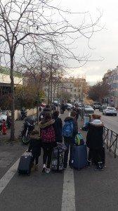Grande famille qui débarque à Marseille !! lol
