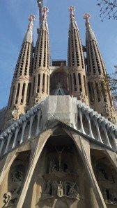 Et enfin la Sagrada Familia !!